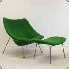 F157 Oyster Lounge Chair by Pierre Paulin for Artifort