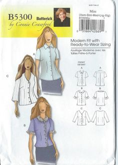 2008  BUTTERICK By Connie Crawford Pattern B5300  by Devereauxart, $7.00