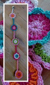 Haken en meer: Hanger bloem