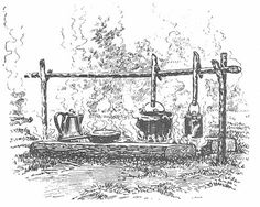 how to build a snack fire, cooking fire,and a comfort fire