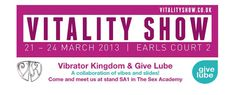 Visit us at SA1 21st-24th March Earls Court. http://vitalityshow.co.uk