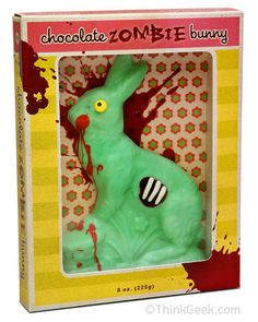 Chocolate Zombie Bunny!
