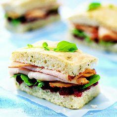 Leftover Turkey Recipe: Turkey-Cranberry Fingers