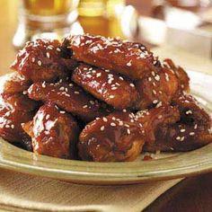 Sweet n Tangy chicken wings - slow cooker