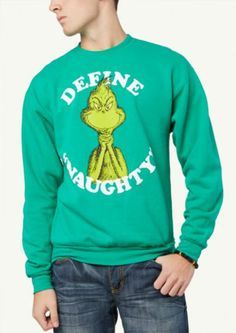 Naughty Grinch Sweatshirt   Get Graphic   rue21