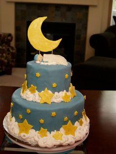 2 tier star cake
