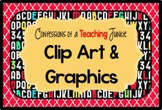 Pinterest Board - Clip Art, Graphics, and fonts