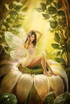Fairy! #fantasy #flower #fairy #world