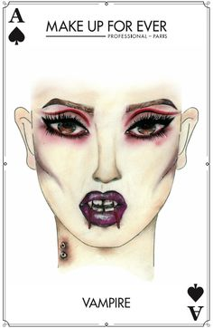 Make Up For Ever #Halloween Look - Vampire