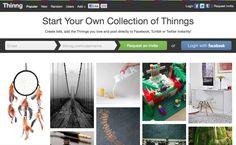 Thinng, a Pinterest for stuff.