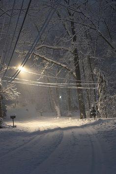 Snow in Pittsburgh, Pennsylvania