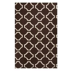 Circa Dhurrie Rug - Chocolate from Z Gallerie