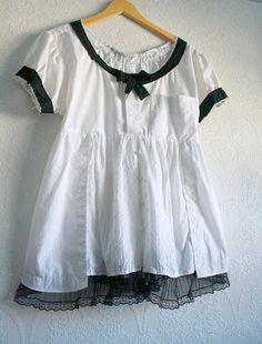 mens shirt into blouse