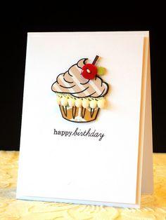 Birthday Cupcake by *茵~, via Flickr