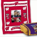 Collegiate Blanket - great graduation gift! There are 50 different college designs.
