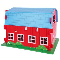 This amazing farm playset will delight children for hours! Comprising a delightful big red barn and lots of accessories, including animals and a working lift, it is perfect for imaginative youngsters. A perfect compliment to other playsets in the range. A snatch at ONLY £42.99.