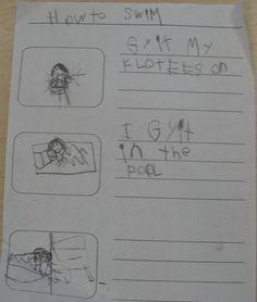 """""""How To"""" writing in Kindergarten"""