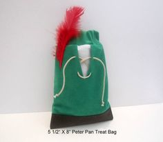 Set of 5 Peter Pan Party Favor Bags by FavorWrap on Etsy, $23.75