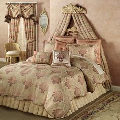 Chandon Comforter Set Champagne. touchofclass.com