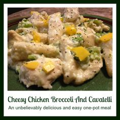 Cheesy Chicken Broccoli And Cavatelli Recipe For The Ninja Cooking System - From Val's Kitchen : From Val's Kitchen
