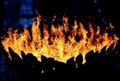 And this... sadly... my last pin of the Olympic Cauldron before the flames are extinguished.  Not gone forever though.  See you in four years in Rio.