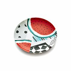 """Party Collage 9"""" Melamine Plate"""