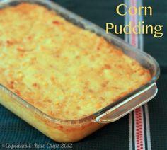 Corn Pudding | cupcakesandkalechips.com #sidedish #corn #glutenfree #vegetarian