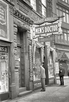 Free Advice, Men's Doctor: 1938