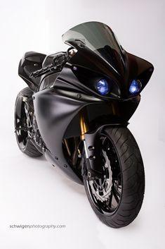 Star Rotors 2009 Yamaha R1 Batman Build #bikes