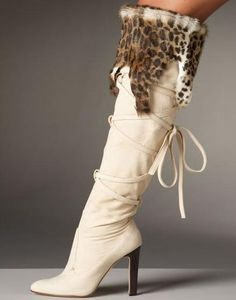 fashion, heel, manolo blahnik, fur, animal prints