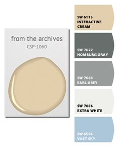 Paint colors from Chip It! by Sherwin-Williams for Pottery Barn Colors