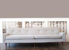 Heathrow Grey Couch