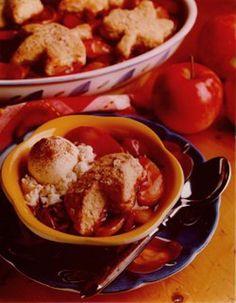 Autumn Fruit Cobbler - Recipe | http://www.quakeroats.com/