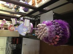Cake pop stand for Sofia the First Borthday