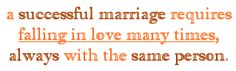 Marriage, one of the scarest words to me.