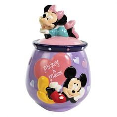 Mickey and Minnie In Love Cookie Jar