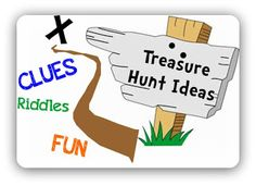 We did this for our Easter Gift Hunt.  The kids (and I) loved this!  Real Treasure Hunts: Cryptic Treasures: Treasure Hunt Clues For Around The House