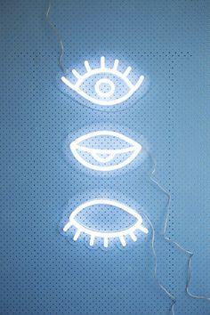Eye! eye! eye neon from Electric Confetti