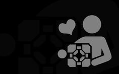 cube fresh, portal wallpap, portal companion, wallpapers, cubes