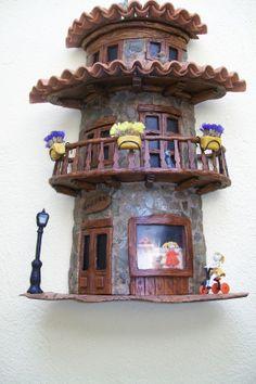 teja decorada por Maribel Villaverde