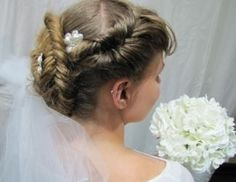 Great Dutch Fishtail Updo