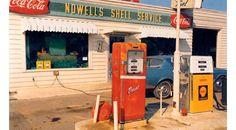 Petrol Station 1950.