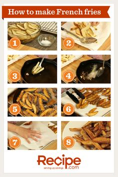 How to Make French Fries from Scratch
