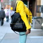 yellow zara jacket