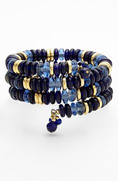 Lauren Ralph Lauren Bead Coil Bracelet available at #Nordstrom