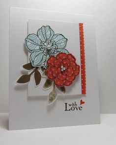Triple Challenge with Love by nancy littrell - Cards and Paper Crafts at Splitcoaststampers