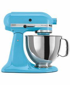 KitchenAid KSM150PS Stand Mixer, 5 Qt. Artisan  in Crystal Blue.... drool worthy