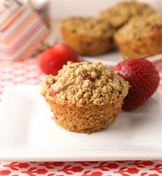 Strawberry Oatmeal Muffins 2 cups quick cooking oats, 1 cup whole ...