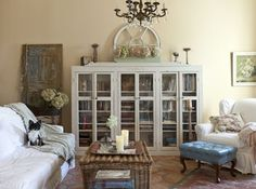 ❥ LOVE this bookcase