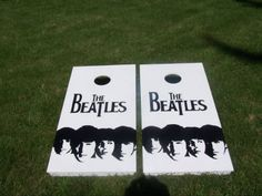 Beatles corn hole game